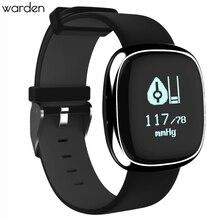 Moda smart watch heart rate monitor de presión arterial pulsera inteligente podómetro sleep rastreador de ejercicios para ios android smartphone