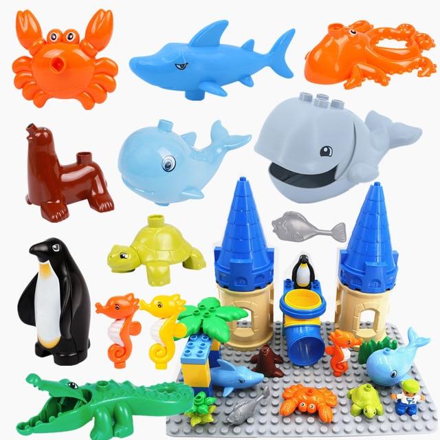 Toys Under A Dollar : Aliexpress buy diy undersea castle sea animals