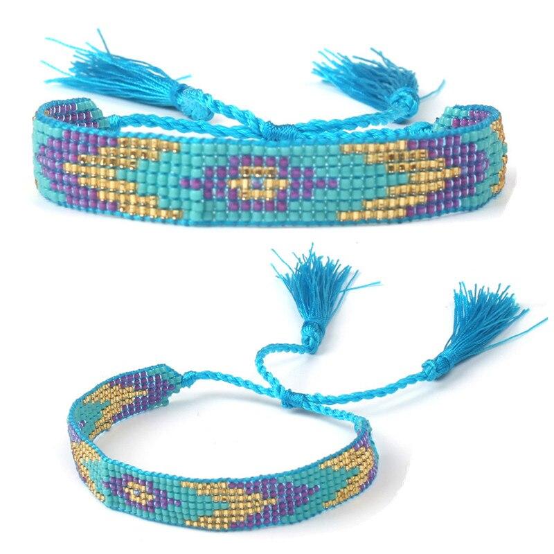 Bracelet Bohemian 1 Pcs Beaded Handmade Jewelry Friendship Fashion Bracelet