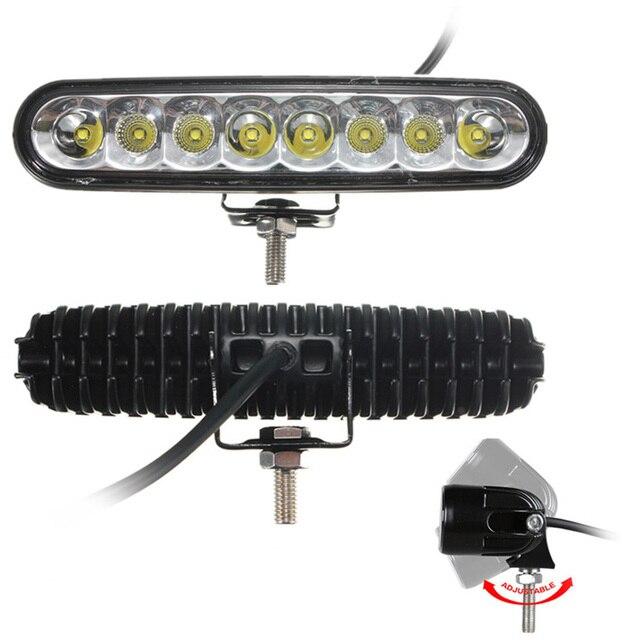 40 Вт 7 inch Светодиодные Чипы Наводнение Спот Combo для Вождения Автомобиля светодиодные Лампы Свет Работы Бар OFFROAD Автомобиль 4WD Эллипсоида Луч 4000LM