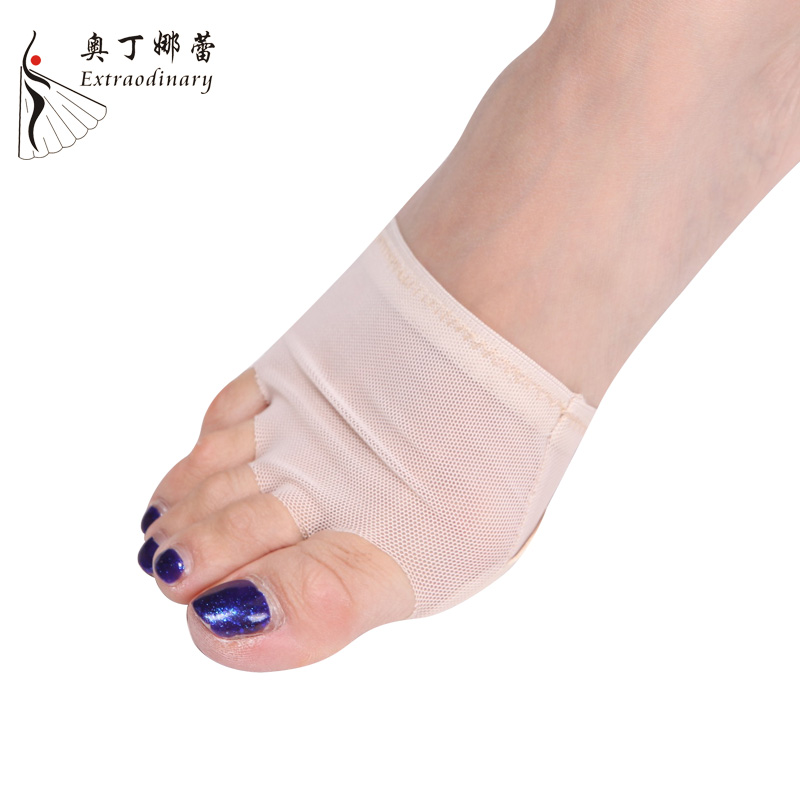 High Elastic Professional Belly/Ballet Dance Toe Pad Practice Undies Half Lyrical Shoes Protection Dance Socks Costumes BX0907