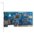 Free Shipping TE110P 1 Port E1 / T1 / J1 card ISDN PRI  PCI Asterisk digital card for VoIP IP PBX System for Elastix,FreePBX