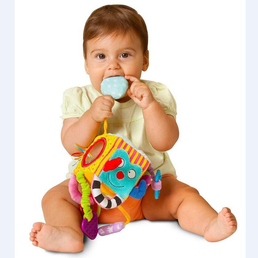 Cochecito de bebé colgando cama campanas felpa toys bebé recién nacido sonajeros