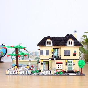 34053 Estructura de Bloque de ladrillo casa Pixel blocks Figuras Ladrillos Niños Bloques de Construcción de Juguetes de construcción Compatibles Con El juguete