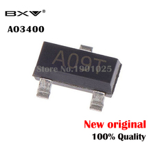 100PCS AO3400A SOT-23 AO3400 SOT23 A09T SOT MOS new and original bat54c kl3 0 2a 30v sot 23