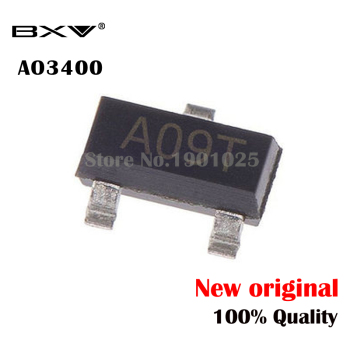100PCS AO3400A SOT-23 AO3400 SOT23 A09T SOT MOS new and original 100pcs bat54s sot 23 bat54 kl4 sot23 smd new and original