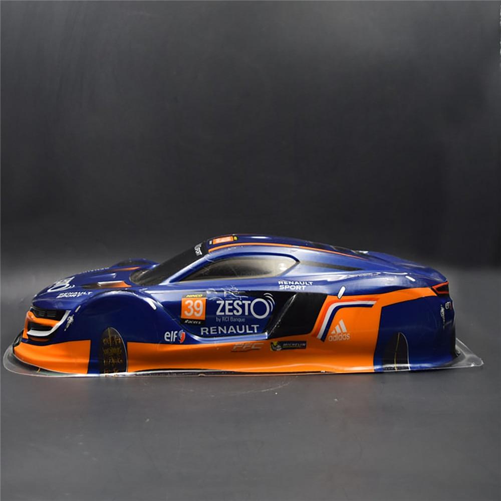 1/10 PVC Painted Body Shell For RC Racing On-road Drift Car For Tamiya TT01 TT02 HPI RS4 Sprint2 E10 430*190mm Wheel Base 260mm