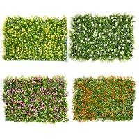 Kunstrasen Kunststoff DIY Grüne Gras Garten Decor Blume 3D Surpermarket Rasen Landschaftsbau Platz Rasenflächen Eukalyptus Blatt Sod