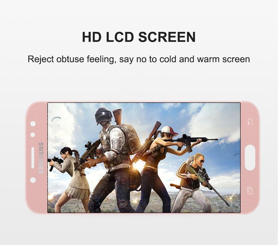 5.2''LCD For SAMSUNG GALAXY j5 2017 J530 J530F SM-J530F LCD Display touch Screen Digitizer For Samsung J5 Pro Adjustable Display