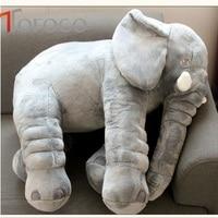 Popular Infant Pacify Dolls 33cm 40cm Plush Animal Soft Stuffed Elephants Color Pink Grey Available