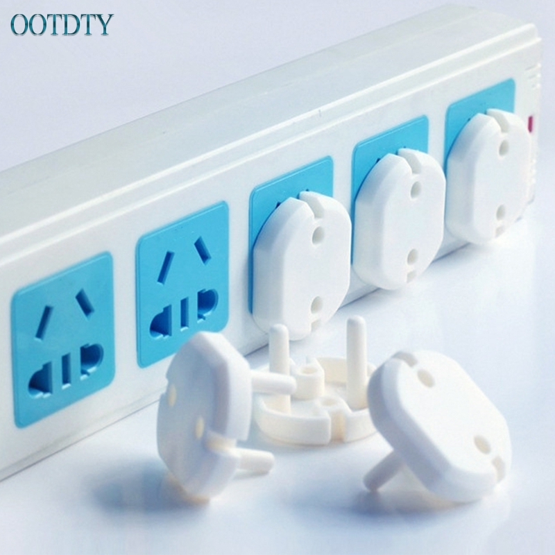 10pcs EU Power Socket Electrical Outlet Baby Children Safety Guard Protection #330