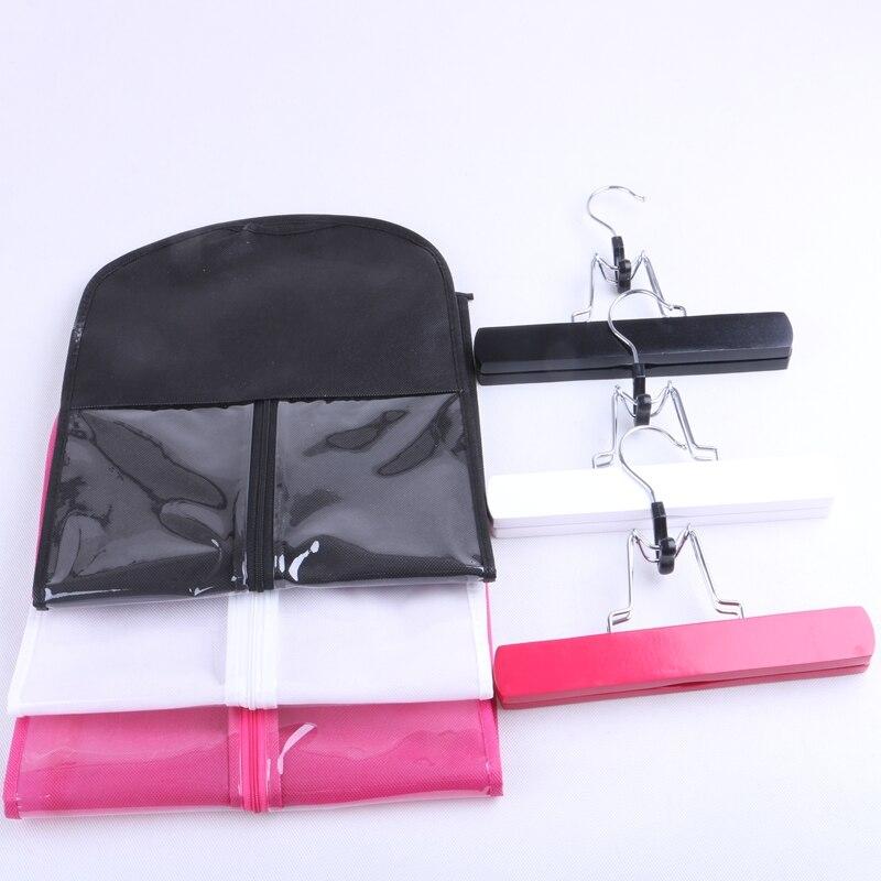 1 Set Black, Pink, White Hair Extensions Förvaringsväska Wig Hanger - Hårvård och styling - Foto 6