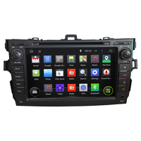 Android 4 4 Buit In DVBT MPEG 4 TV Car DVD Player Navigation GPS Radio Fit