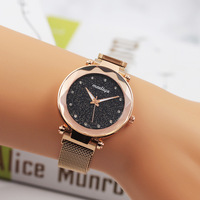 KAYUELI женские часы 2019 женские часы Звездное небо магнитные водонепроницаемые женские наручные часы светящиеся relogio feminino reloj mujer