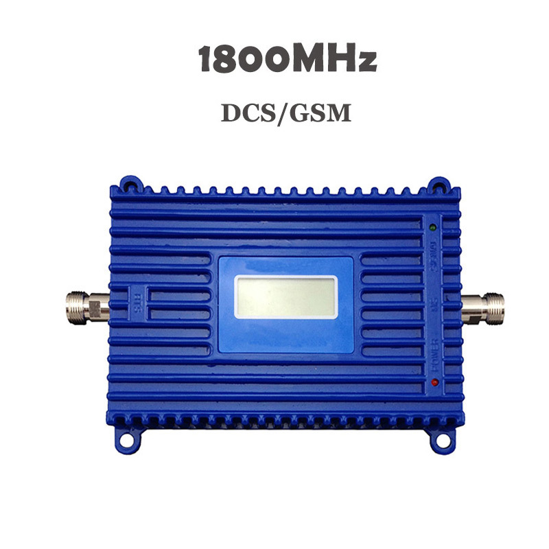 2019 GSM Signal Booster DCS 1800mhz Mobile Signal Repeater 70db High Gain 1800 Cell Phone 20dbm Output Power With LCD Display#18