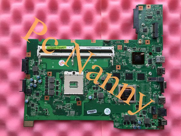 все цены на  100% Tested Original G74SX REV.2.0 Laptop Motherboard for ASUS G74SX system board with nvidia graphics 2gb hm65 High quality  онлайн