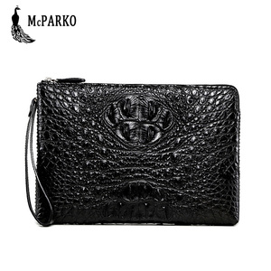 Genuine crocodile leather clutch wallet for men Luxury men's bag alligator skin cltuch bag High-end elegant gift for businessman