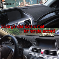 for honda accord 2004 2016 Silica gel Car Dashboard Pad Instrument Platform Desk Avoid Light Mats Cover Sticke