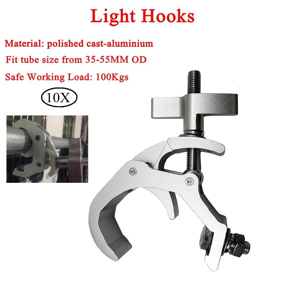 10pcs lot High Quality Aluminum Lights Hook LED PAR Hooks Profession Stage Equipment LED Stage Light