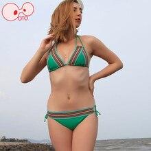 Venta caliente de Europa Y América Las Mujeres Hollow Sexy de Dos piezas Conjuntos de Bikini 2016 Nuevo Vitoria Backless Delgado Playa de la Piscina de Baño trajes