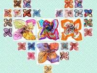 2016 новое прибытие Площадь 100% сатин шелковый шарф новое прибытие шелковый шарф шаль wrap оптом женская 18 цвета 90*90 см #3781