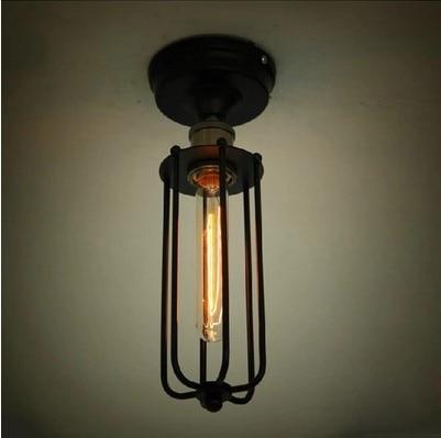 Retro Loft Style Edison Industrial Vintage Flush Mount Ceiling Light Lamp Indoor Lighting,Luminaria De Teto