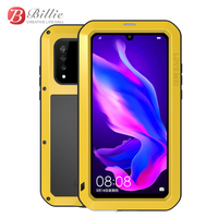 Metal Armor Heavy Duty Protective Case For Huawei P30 Pro Lite Case Shockproof Full Body With Glass Cover P30Pro Lite 6.15 Case