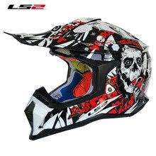 LS2 MX470 subverter moto cross шлем шустрый ATV moto cross off raod гоночные шлемы горные оригинальные LS2 moto rcycle шлемы