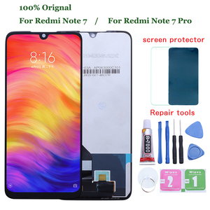 Original for Xiaomi Redmi Note 7 LCD Display Screen Touch Digitizer Assembly Redmi Note7 Pro M1901F7G LCD Display 10 Touch