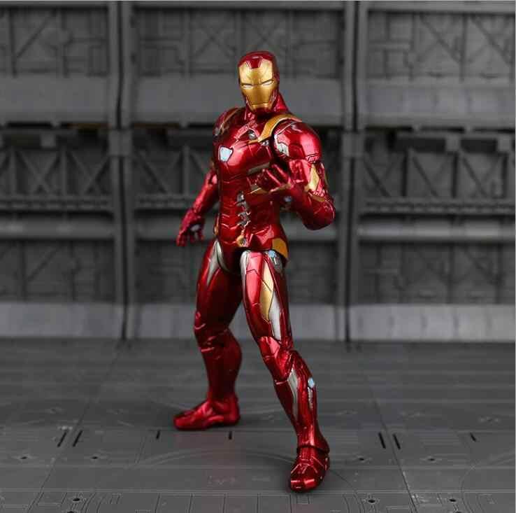 Натуральная Мстители 3 Бесконечность войны Marvel Legends человек паук Черная пантера Железный человек Капитан Америка танос Халк фигурку игрушки