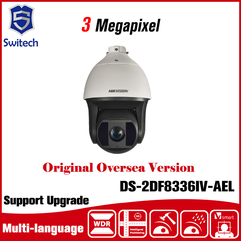 DS-2DF8336IV-AEL 3 Megapixel series Smart IR PTZ Camera PoE / 24VAC 200m IR 36X Optical Zoom Smart Detection Tracking PTZ sme series iv