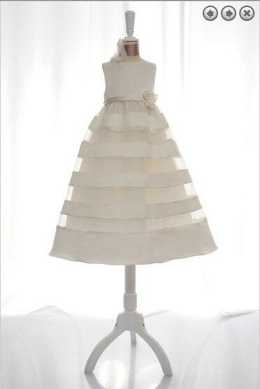 free shipping   flower     girl     dresses   for weddings 2016 first communion christmas little   girl   pageant gowns   dresses   for   girls   white