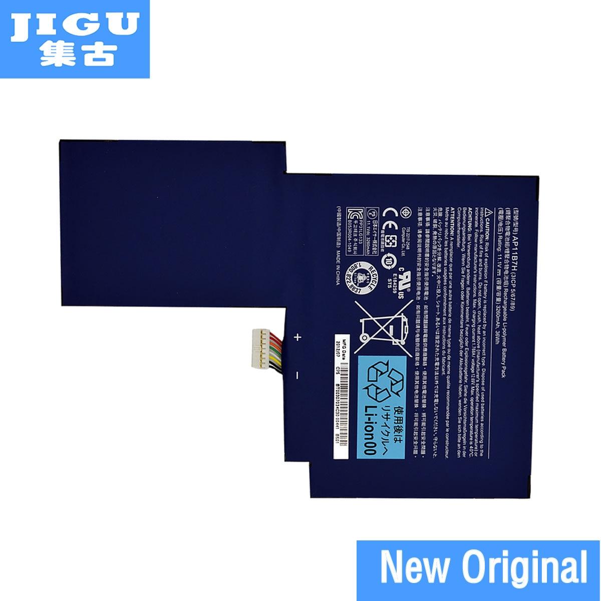 JIGU AP11B3F BT.00303.024 AP11B7H BT.00307.034 Batterie D'ordinateur Portable D'origine Pour Acer Iconia W500 W500P