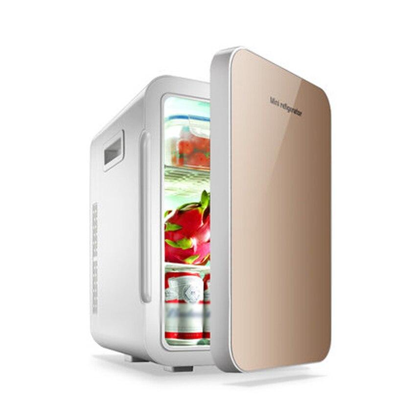 F-W25SA Portable Freezer 22 L Mini Fridge Refrigerator Car Home A Dual Use Compact Car Fridge 12/220 V Temperature Variations