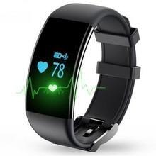 2016 New Good Wristband D21 Good Bracelet Coronary heart Price Monitor Smartband Pedometer Exercise Tracker Health for IOS Androidphone