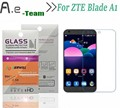 Aierwill protector de pantalla para zte blade a1 hd clear film protector 9 h + vidrio templado 2.5d anti-explosión para zte blade a1