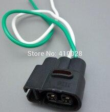 2 unids 2pin 2.0mm para Kia bobina de encendido bobina de encendido conector Del Inyector de Combustible Conector de arnés de Cableado de Enchufes