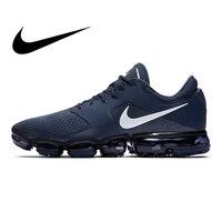 Nike Air Vapormax сетки Для мужчин дышащие кроссовки спортивные Одежда высшего качества спортивная Дизайнерская обувь 2018 Новый AH9046 401
