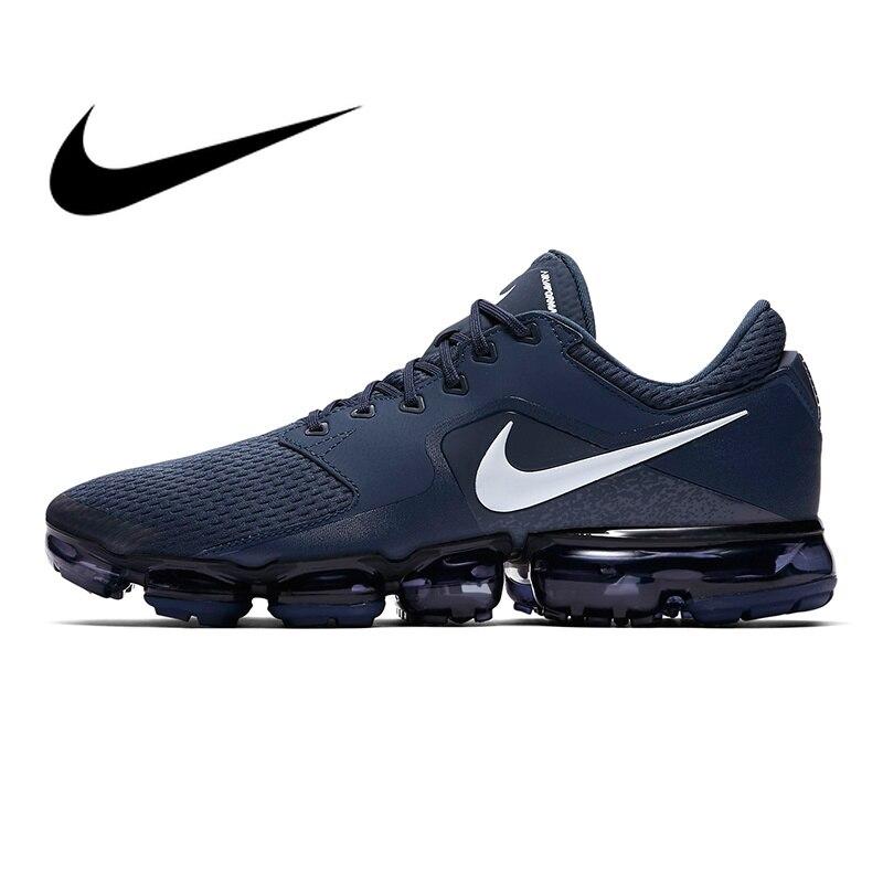 Nike Air Vapormax Mesh hommes respirant chaussures de course baskets Sport Top qualité athlétique Designer chaussures 2018 nouveau AH9046-401