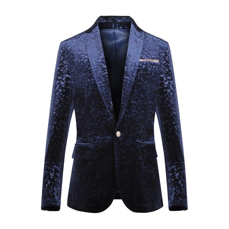 Compare Prices On Velvet Blazer Men- Online Shopping/Buy ...