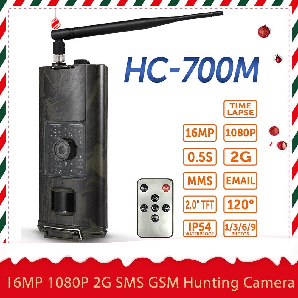16MP 3G SMS GSM cámara de caza al aire libre Cámara del rastro de Vida Silvestre de exploración foto trampas cámaras infrarrojos PIR noche visión salvaje cámara
