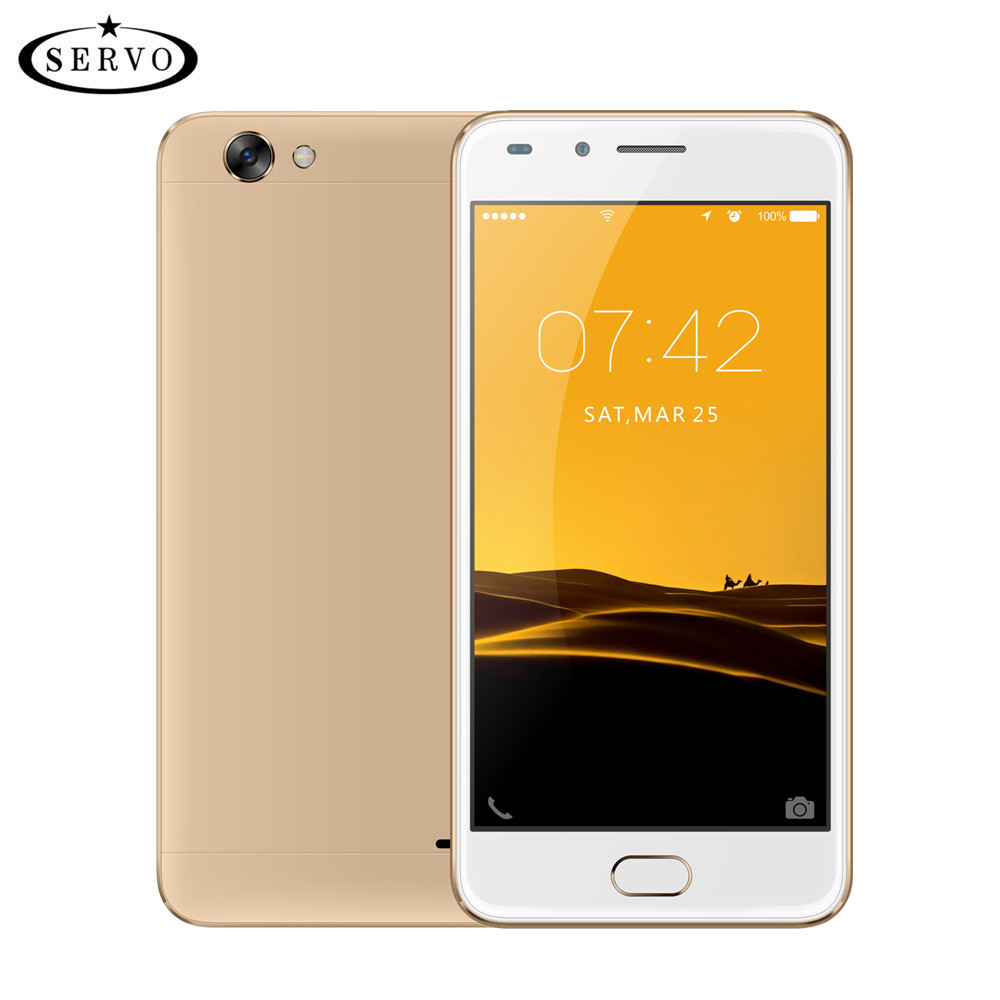 SERVO X3 4G LTE <font><b>Cell</b></font> <font><b>Phone</b></font> 5.0&#8243; Spreadtrum9832A Quad Core Mobile <font><b>Phones</b></font> RAM 1GB ROM 8GB Camera 8.0MP Android 6.0 GPS Smartphones