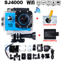 Go Pro Hero3 Style SJ4000 WIFI Action Camera Diving 30M Waterproof Camera 1080P Full HD Underwater Sport Camera Free Shipping