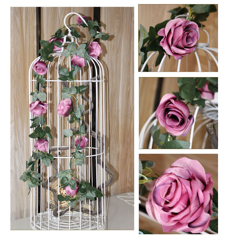 Wedding Decoration Artificial Flowers Simulation Fake Silk