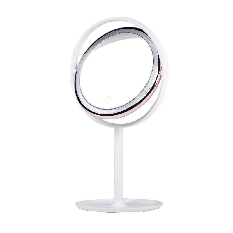 LED cosmetic mirror Vanity light portable beauty mirror lamp dormitory table decoration  ...