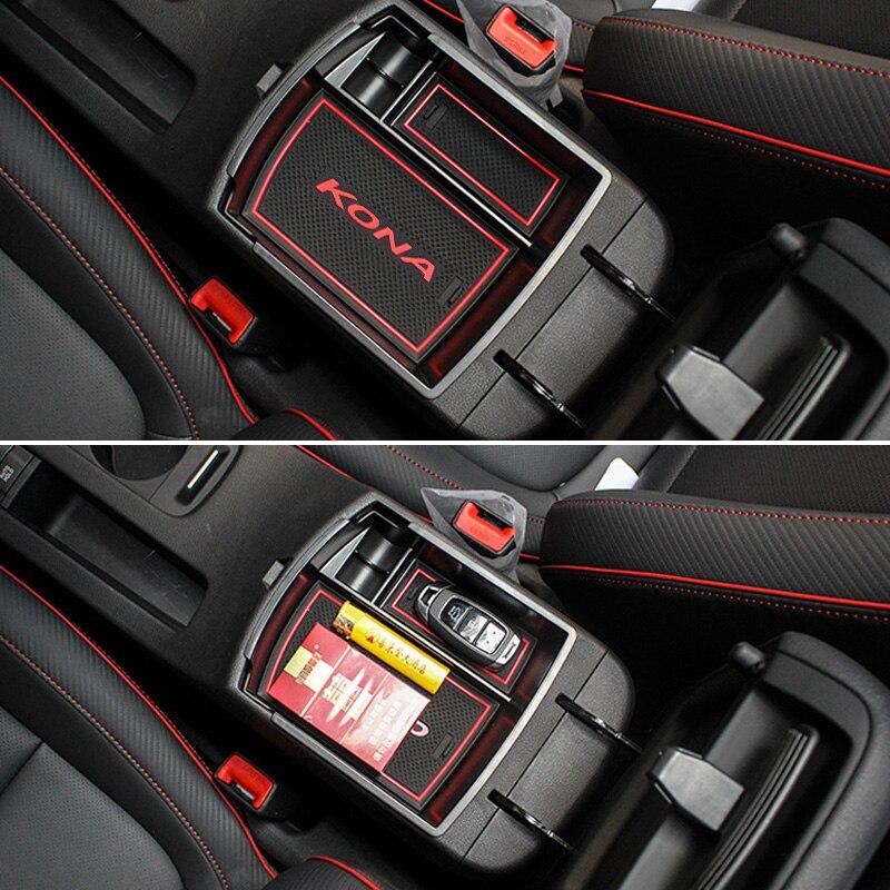 Armrest Storage Box For Mazda CX-9 2016-2018 Central Console Tray Bin