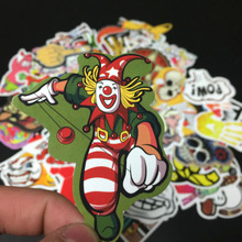 300pcs/set Mixed Random Stickers Stickers For Skateboard Laptop Luggage Guitar Travel Case sticker Car Kids DIY Toys