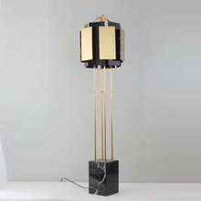 Nordic floor lamp modern living room stainless steel gold decorative luxury hotel
