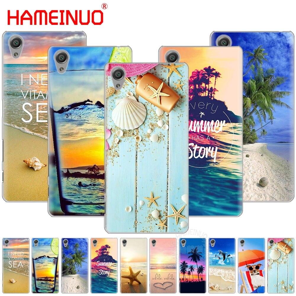 Cellphones & Telecommunications Half-wrapped Case Cooperative Hameinuo Summer Beach Relax Starfish Cover Phone Case For Sony Xperia C6 Xa1 Xa2 Xa Ultra X Xp L1 L2 X Xz1 Compact Xr/xz Premium