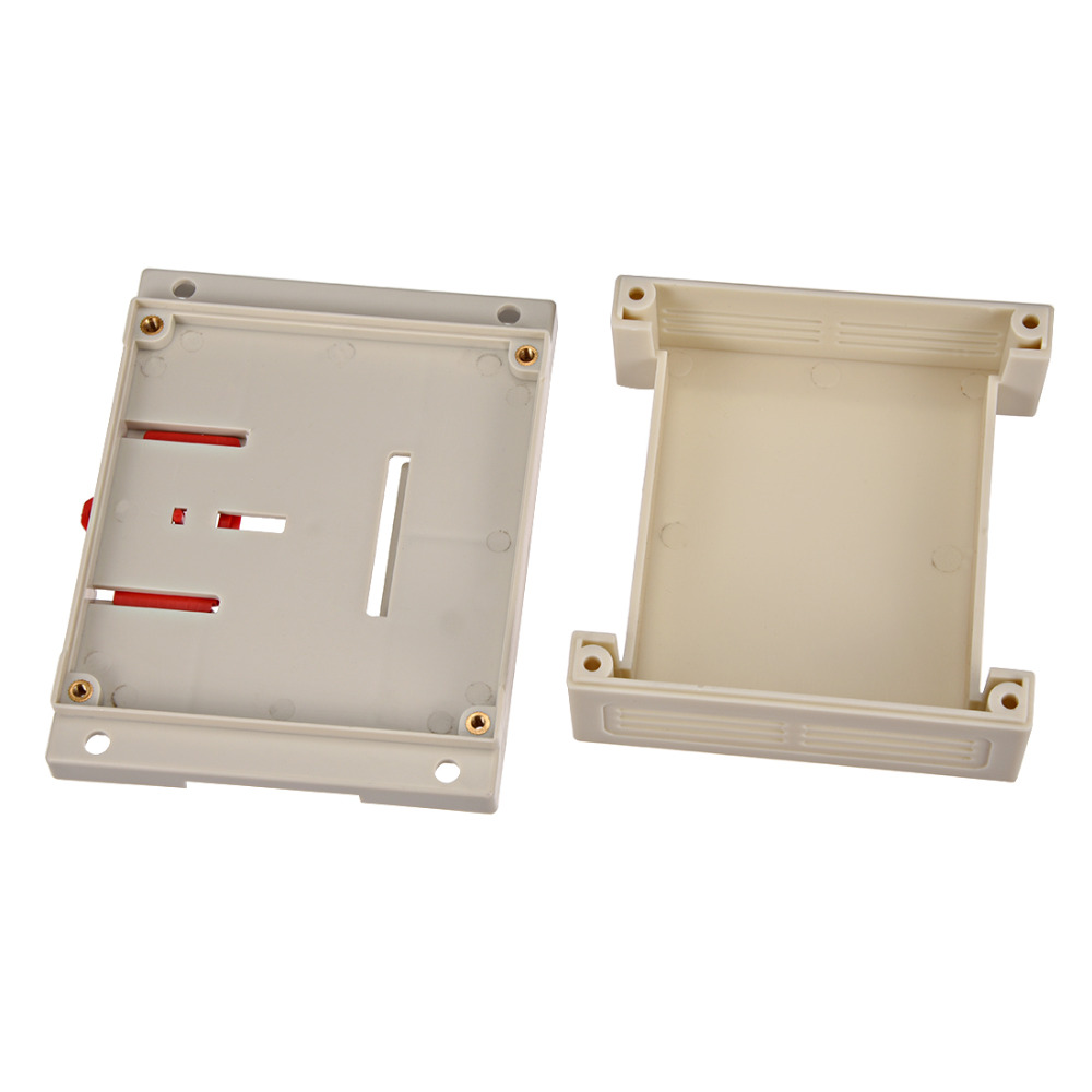 Uxcell 115mm x 90mm x 40mm 4 53 x 3 54 x 1 57 quot White Plastic Electric Enclose Terminal Junction Project Box Connector 1Pcs in Wire Junction Boxes from Home Improvement
